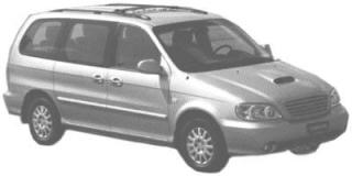 Kia Carnival/Sedona (FLB) (1999 - 2001)